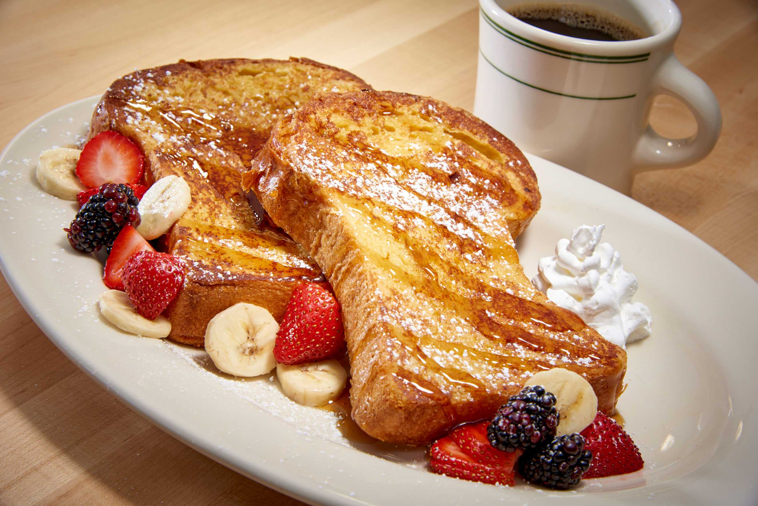 Brioche French Toast photographed for Cantors Deli, Las Vegas