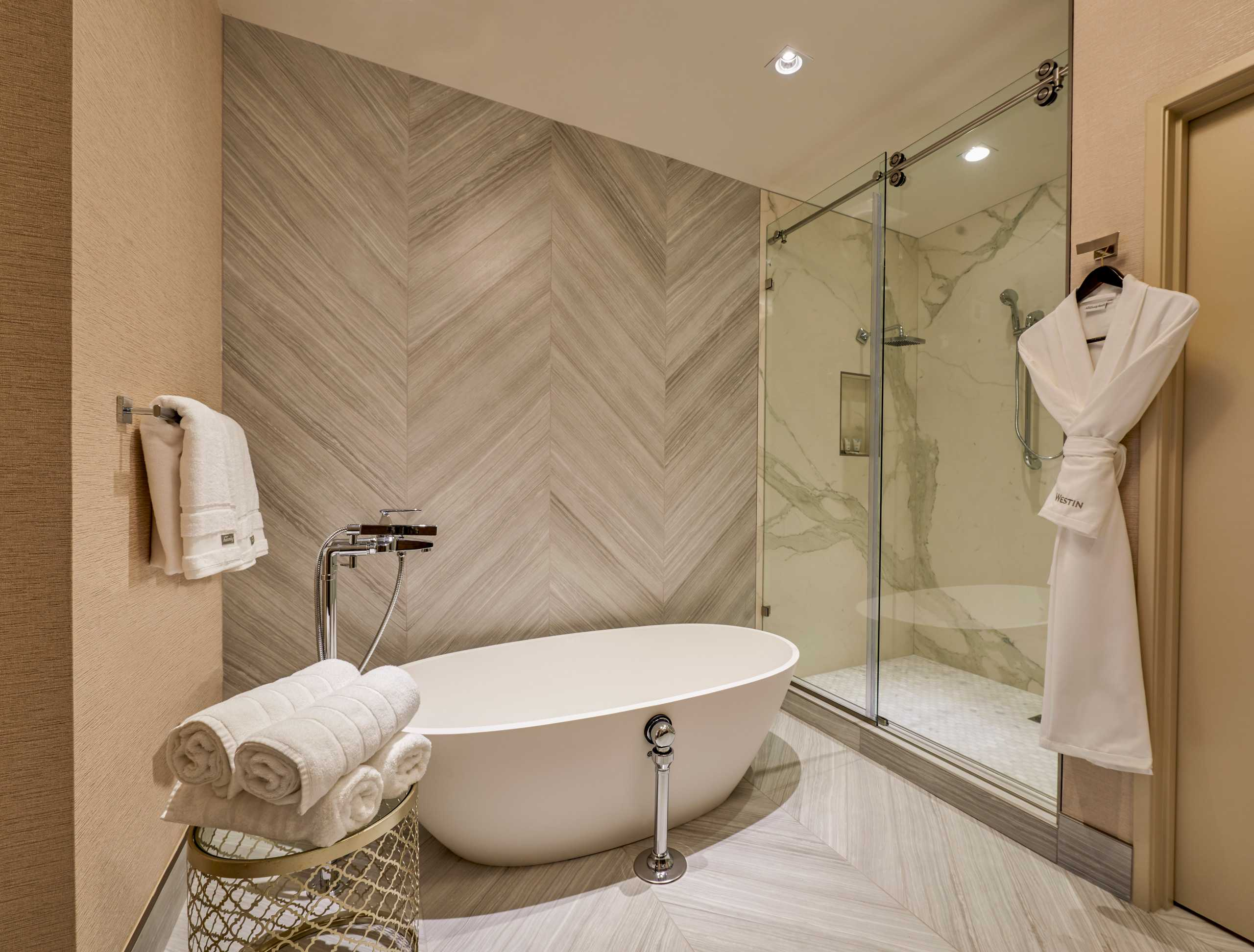 Presidential Suite Bathroom at The Westin Hotel and Spa in Las Vegas