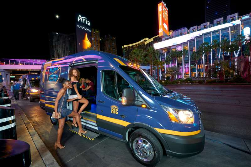 """Trip To Strip photoshoot for """" The Regional Transportation Commission of Southern Nevada"""""""