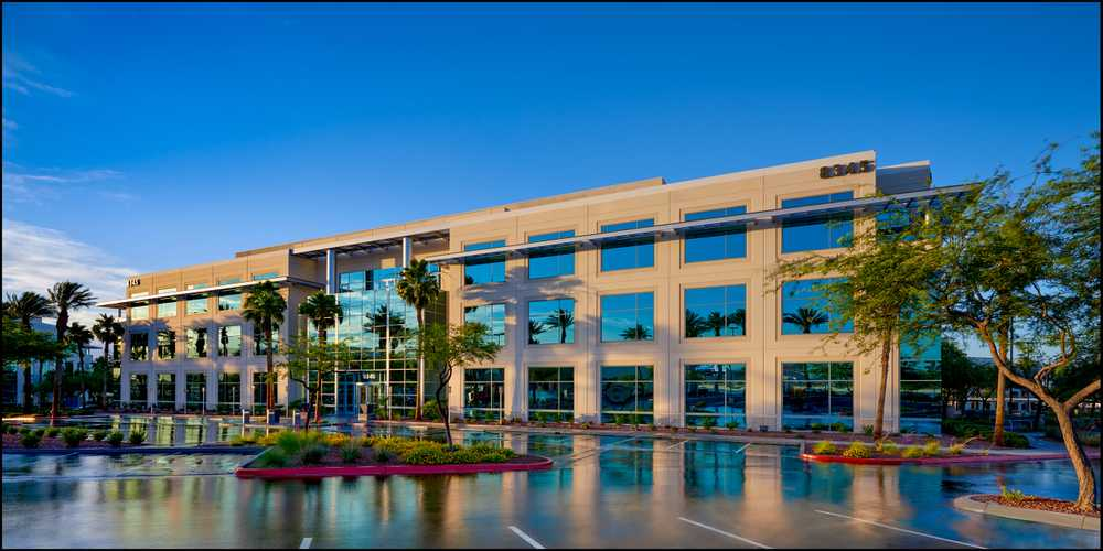 """Centra Point at the Curve"" Business Park in Las Vegas"