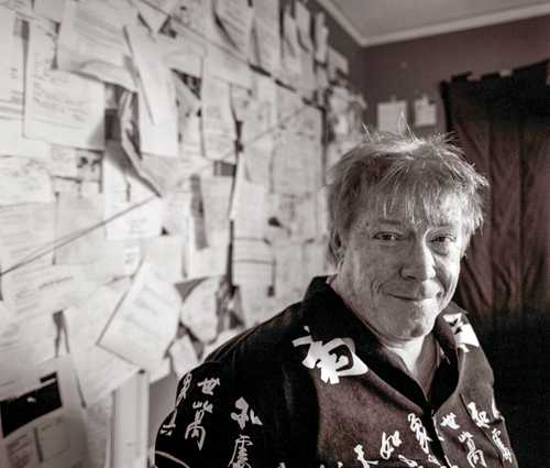 Cartoonist John Callahan photographed for The Artist Within Portrait Project