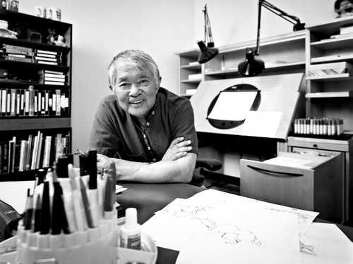 Animation Legend Iwao Takamoto photographed by Greg Preston