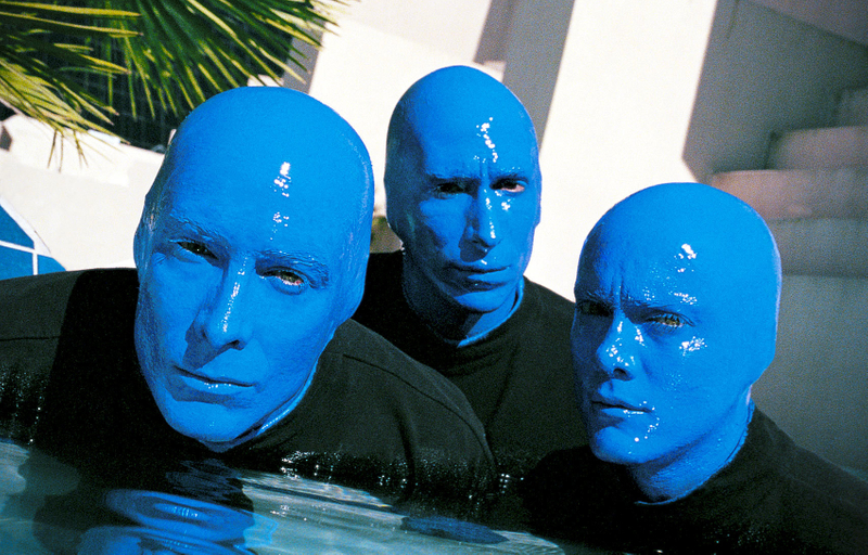 Blue Man Group,image © Sampsel Preston Photography, Las Vegas Professional Commercial and Advertising Photographers, 702-873-0094, spp@lvcoxmail.com,www.thebestlasvegasphotographers.com