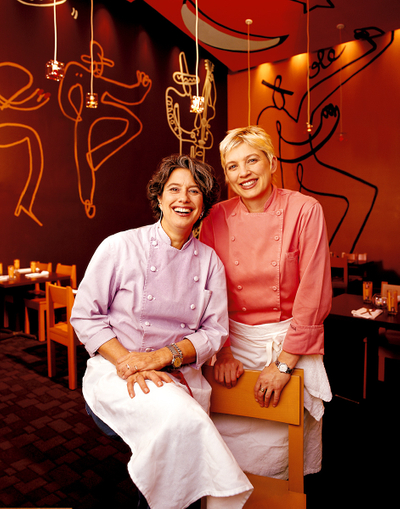 Mary Sue Milliken and Susan Feniger, Two Hot Tamales,image © Sampsel Preston Photography, Las Vegas Professional Commercial and Advertising Photographers, 702-873-0094, spp@lvcoxmail.com,www.thebestlasvegasphotographers.com