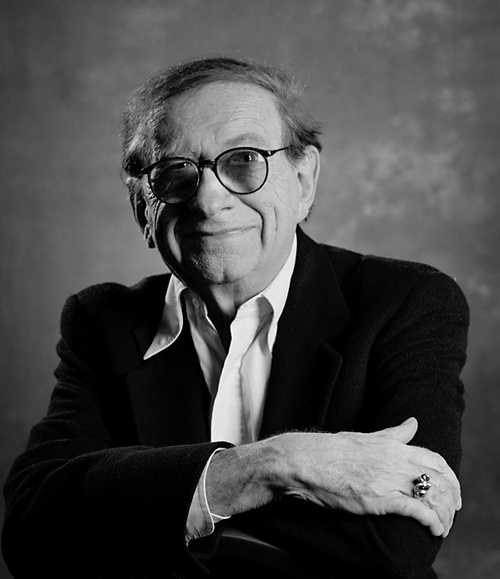 Author Robert Bloch photographed by Greg Preston