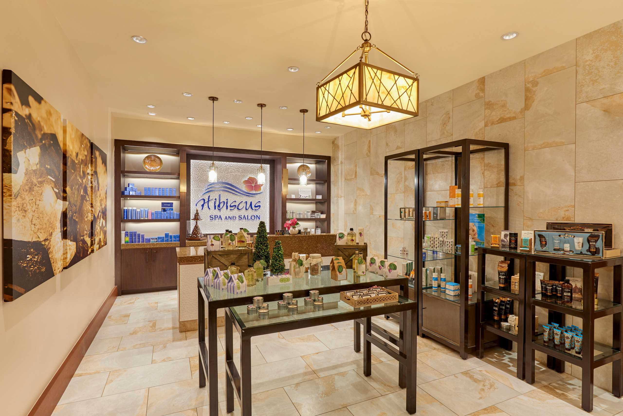 The Hibiscus Spa and Salon at The Westin Hotel and Spa in Las Vegas