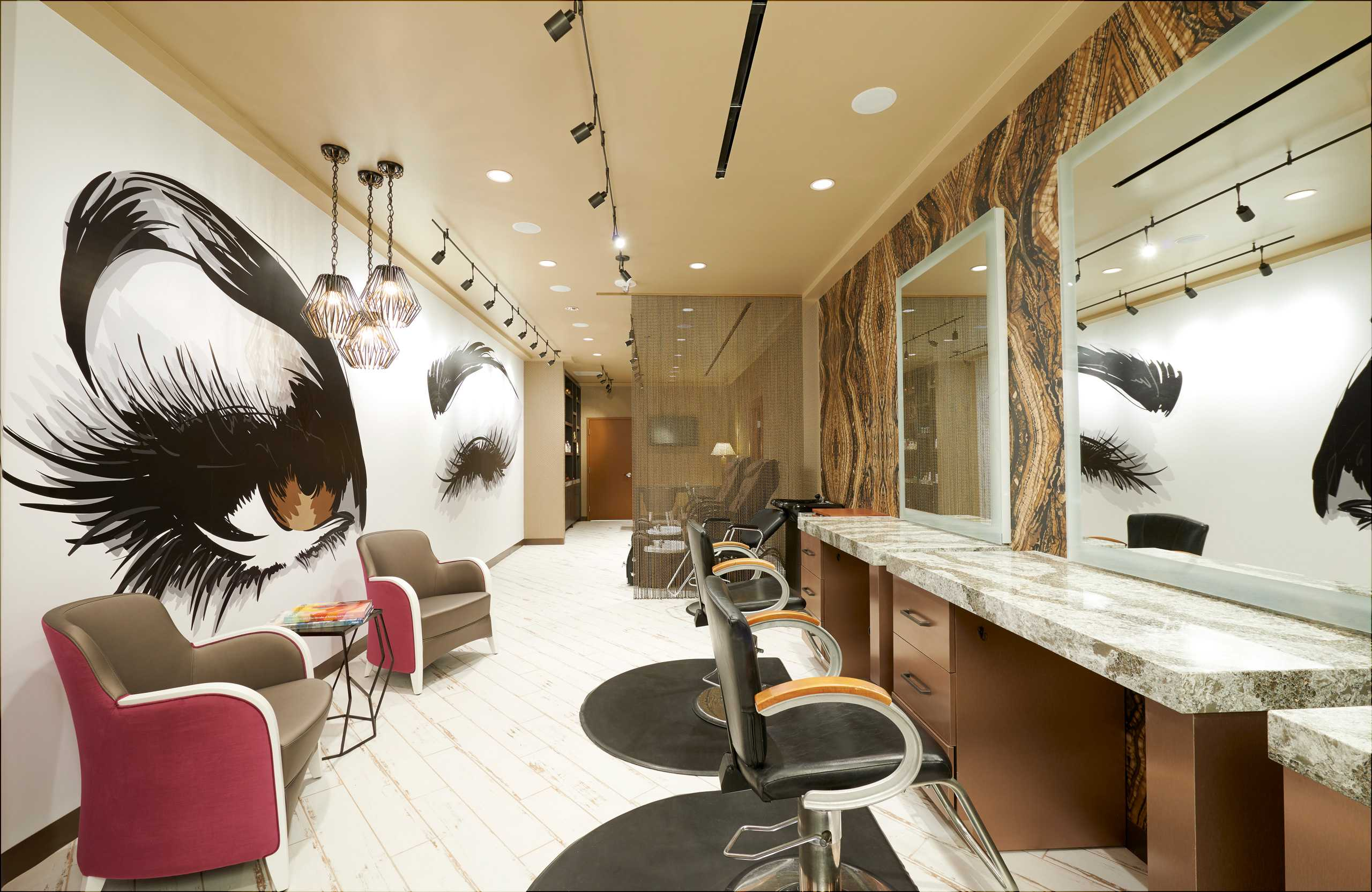 The New Salon at The Westin Hotel and Spa in Las Vegas