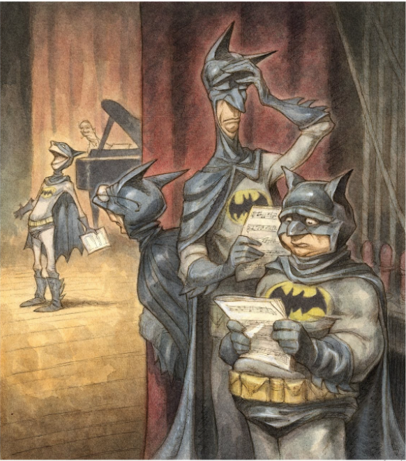 Peter de Seve, Batman The Musical