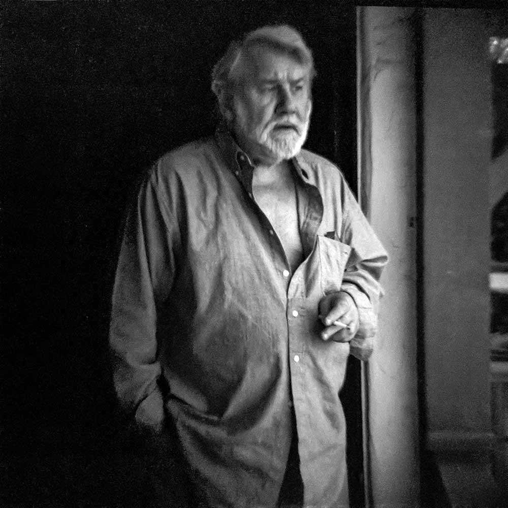 Cartoonist Alex Toth, photographed for The Artist Within