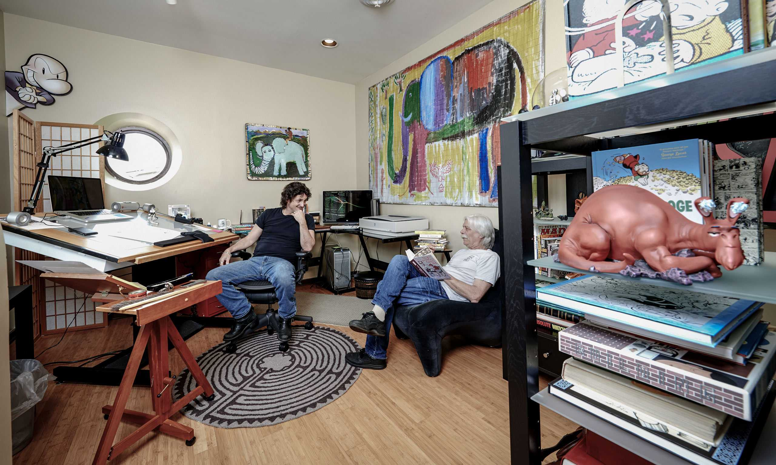 """Outtake from """"The Artist Within: Book 2 with David Scroggy and Cartoonist Jeff Smith"""