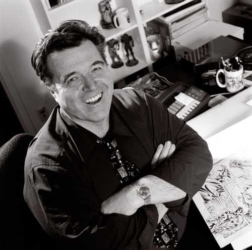 Portrait of Comic Book Artist/ Illustrator Neal Adams