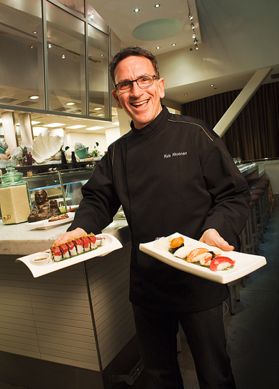 Chef Rick Moonen at RM Seafood,image © Sampsel Preston Photography, Las Vegas Professional Commercial and Advertising Photographers, 702-873-0094, spp@lvcoxmail.com,www.thebestlasvegasphotographers.com