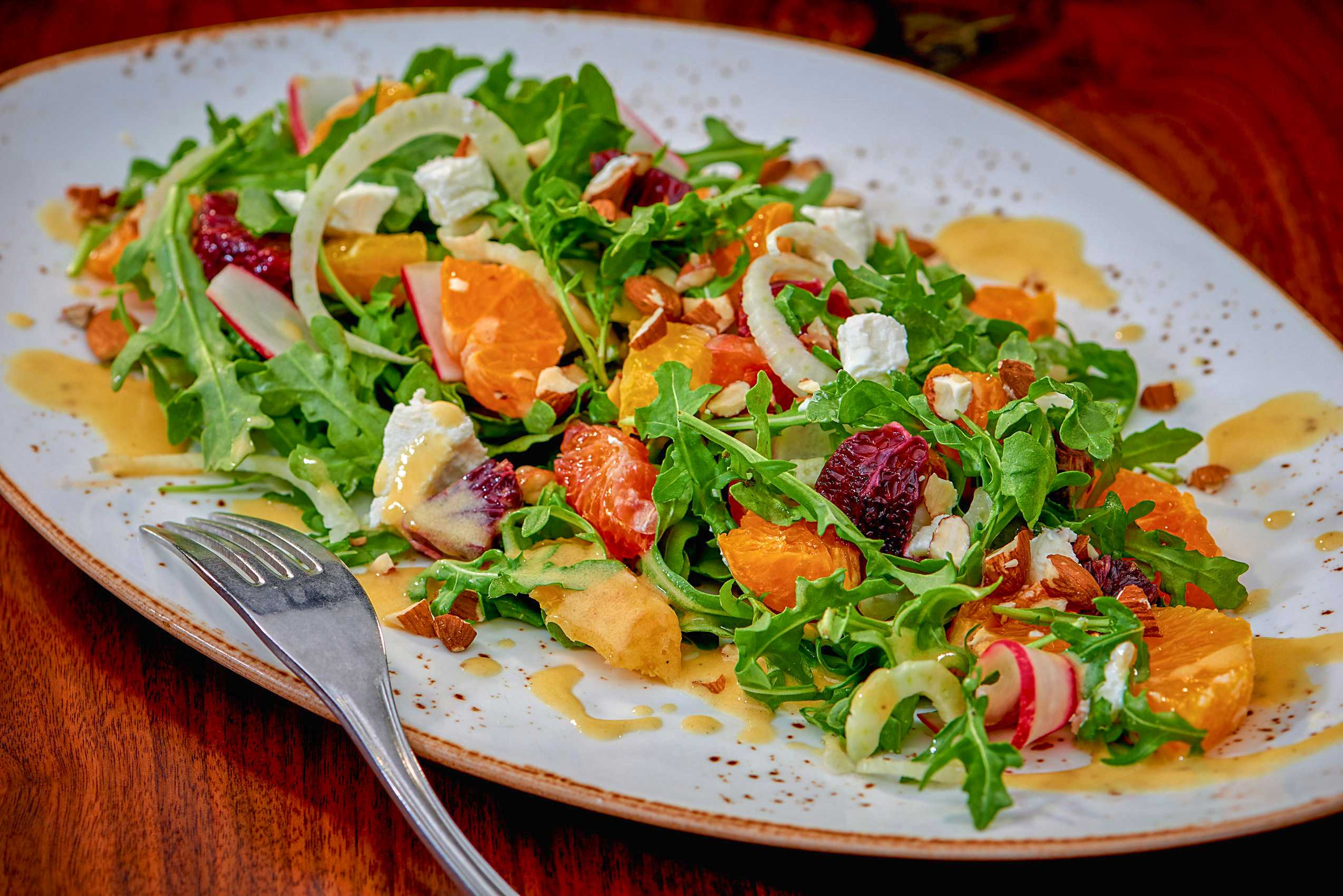 """Citrus and Fennel Salad at """"Jake and Eli"""""""