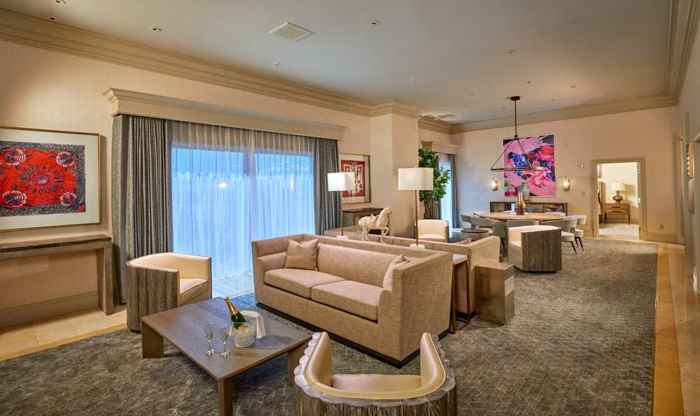Penthouse Suite at The Treasure Island ,TI  Hotel and Casino in Las Vegas
