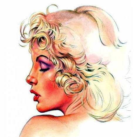 Pin-up by Dave Stevens