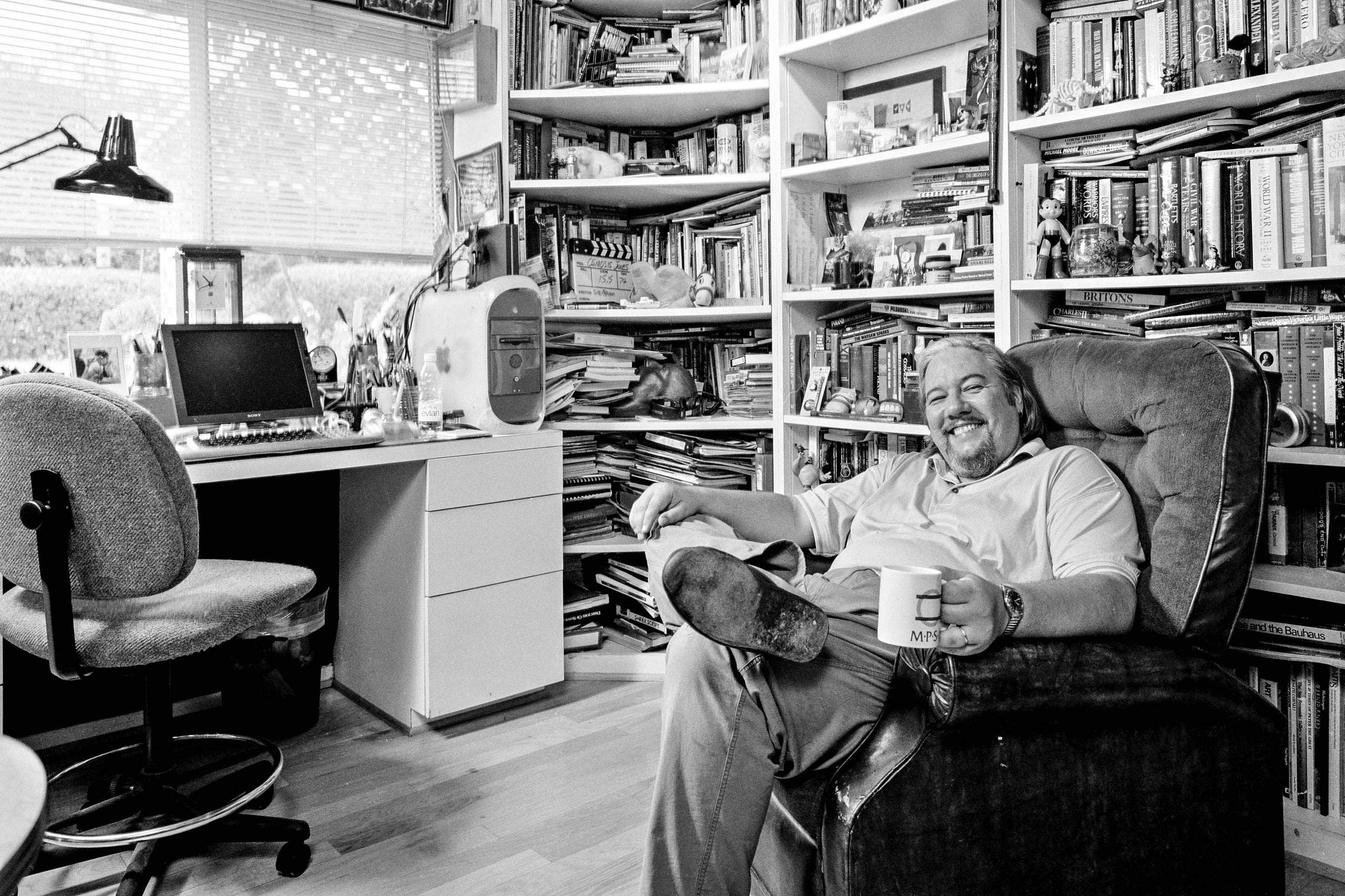 """Animator Tom Sito, photographed for """"The Artist Within: book 2"""""""