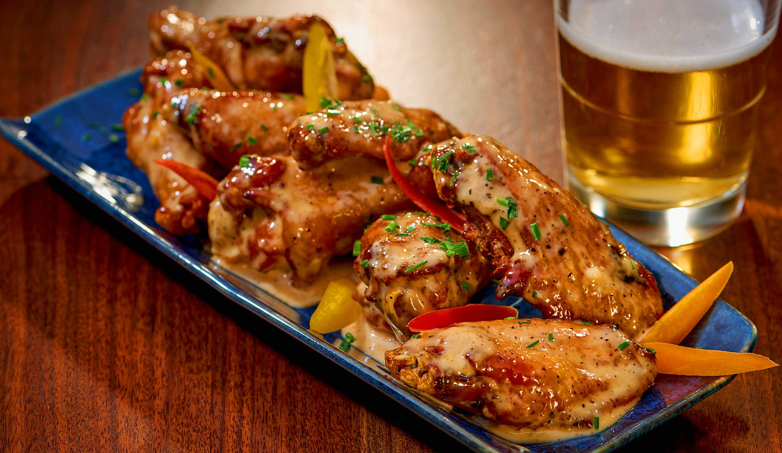 """""""Bama Wings at the all new Jake and Eli's Restaurant, Westin Hotel and Spa, Las Vegas"""
