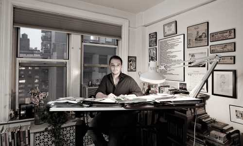 """Comic Book Artist Phil Jimenez Photographed for """"The Artist Within: Book 2"""""""