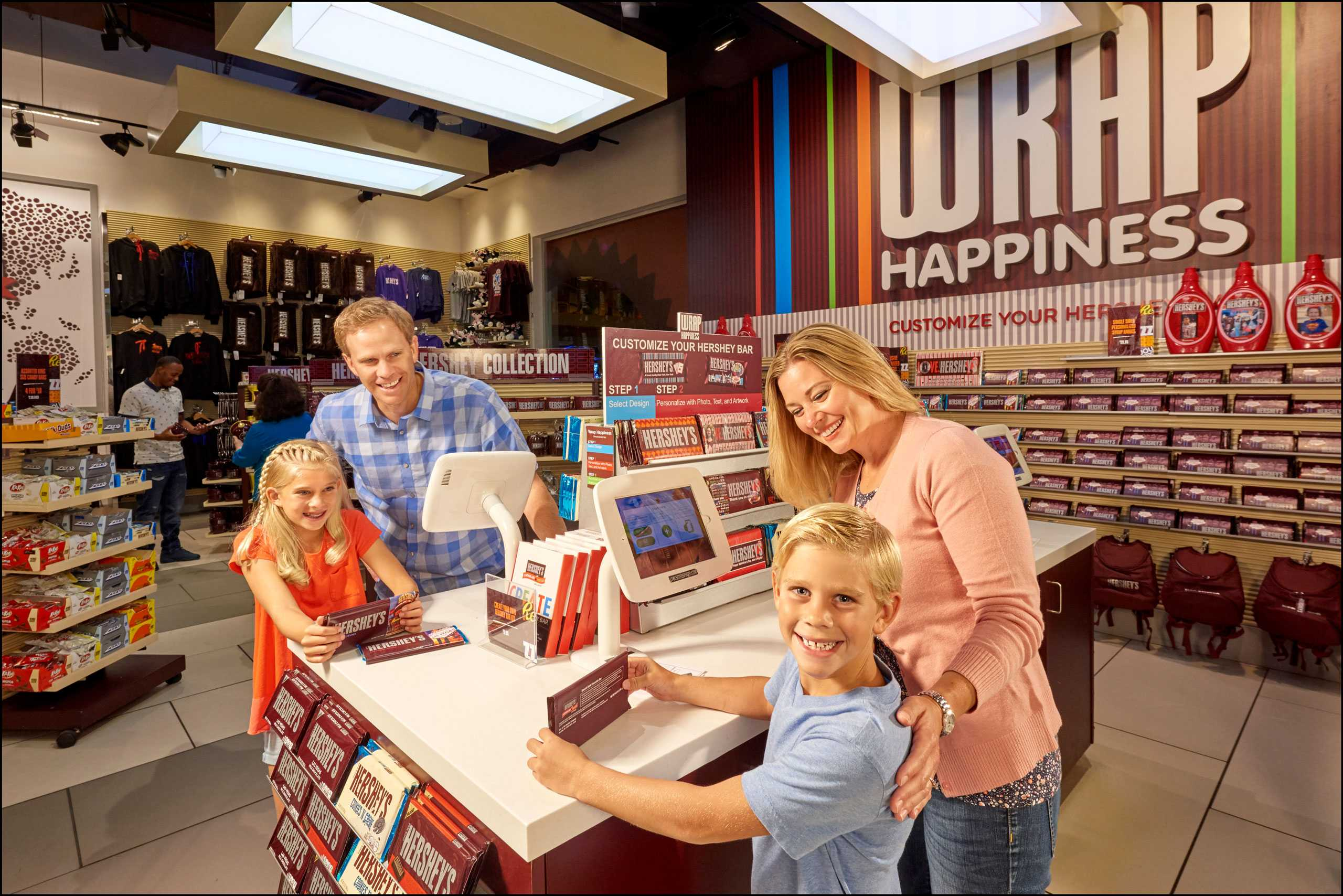 Wrap Happiness at the Hershey's Store Las Vegas