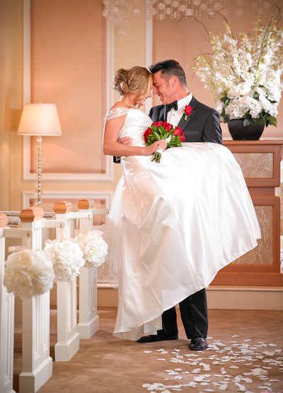 Wedding at The T.I. Resort and Casino