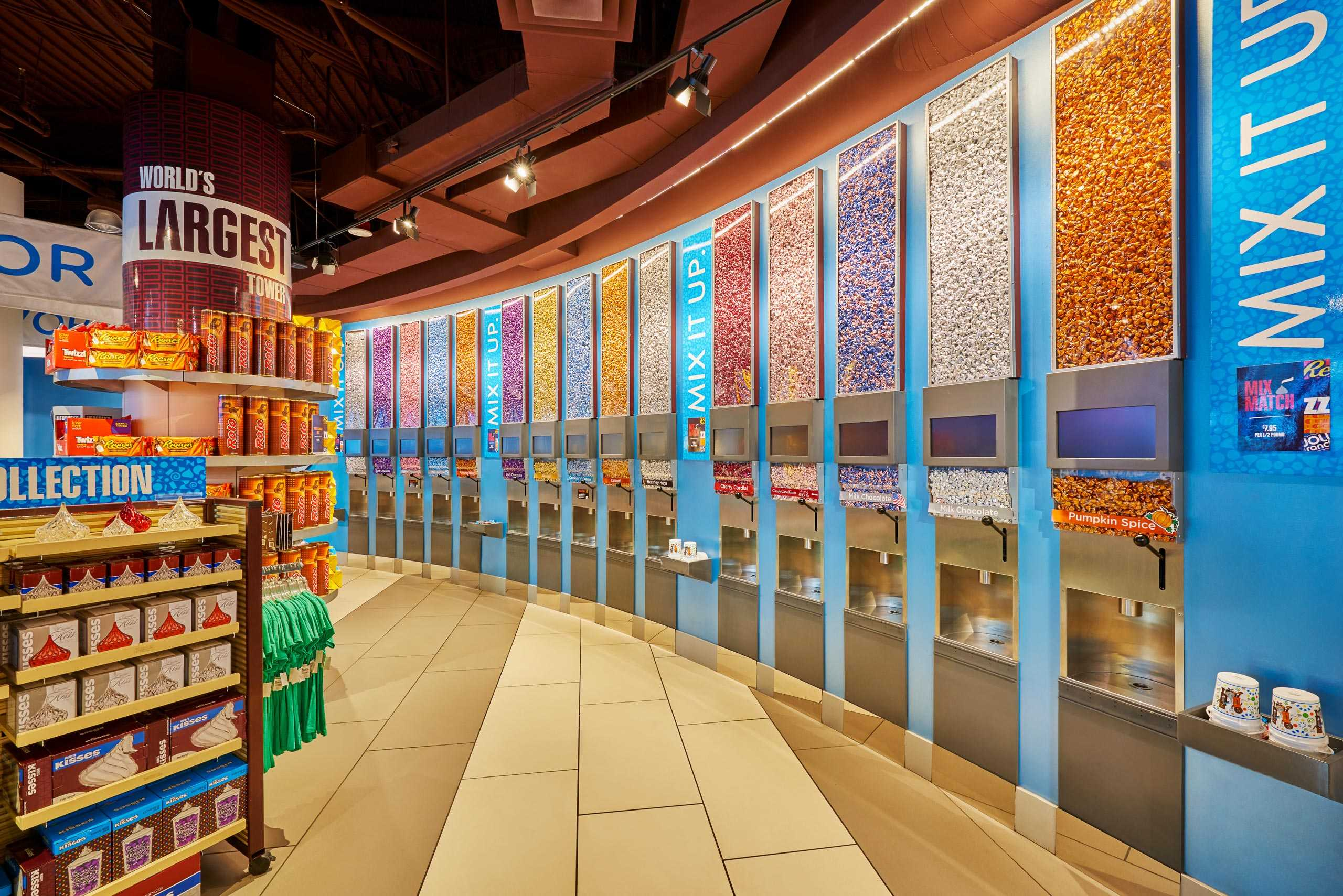 Hershey's Candy Wall