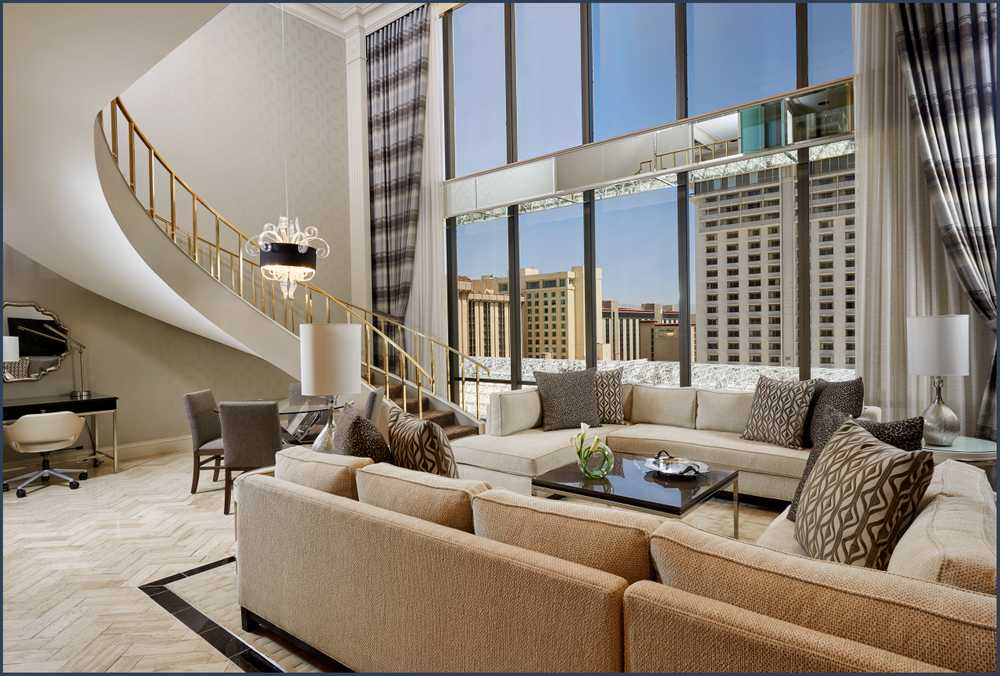 Suite at The Golden Nugget Casino and Hotel in Las Vegas
