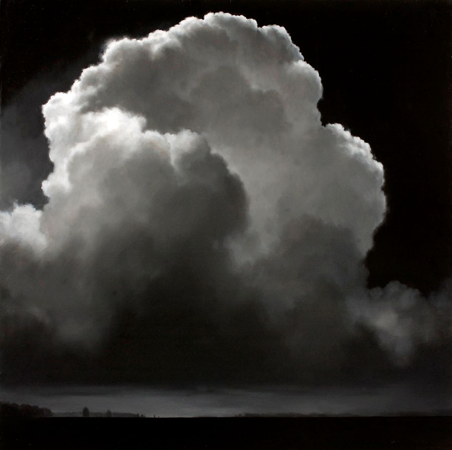 Black & White Cloudscape - Artist: James McLaughlin Way