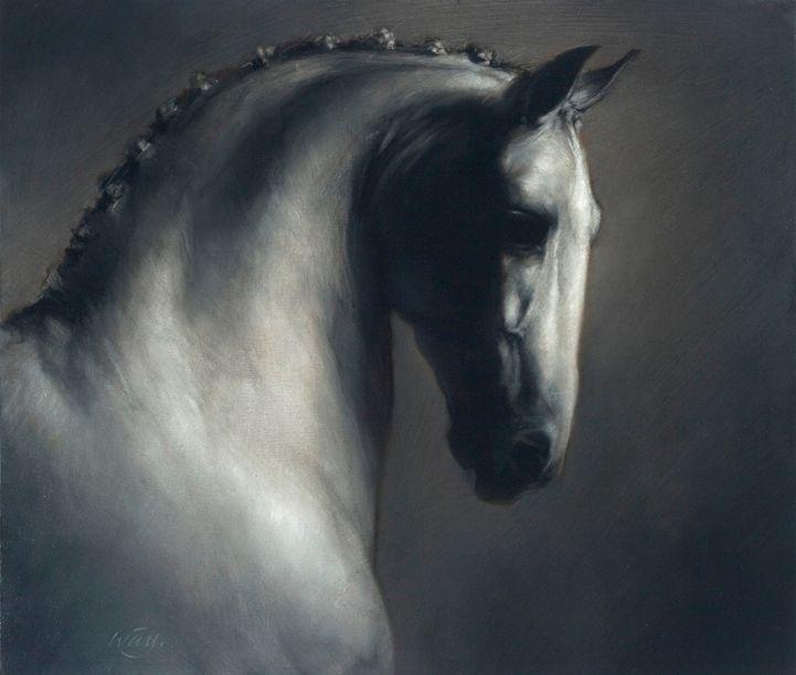 Pura Raza Espanola - Artist: James McLaughlin Way