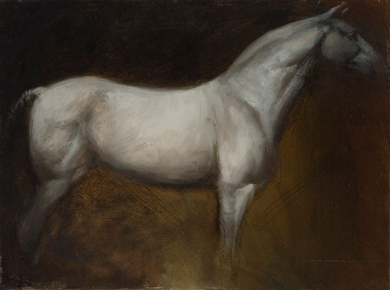 Horse Study - Artist: James McLaughlin Way