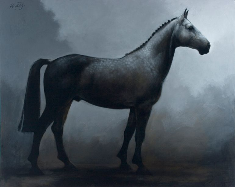 Trakehner - Artist: James McLaughlin Way
