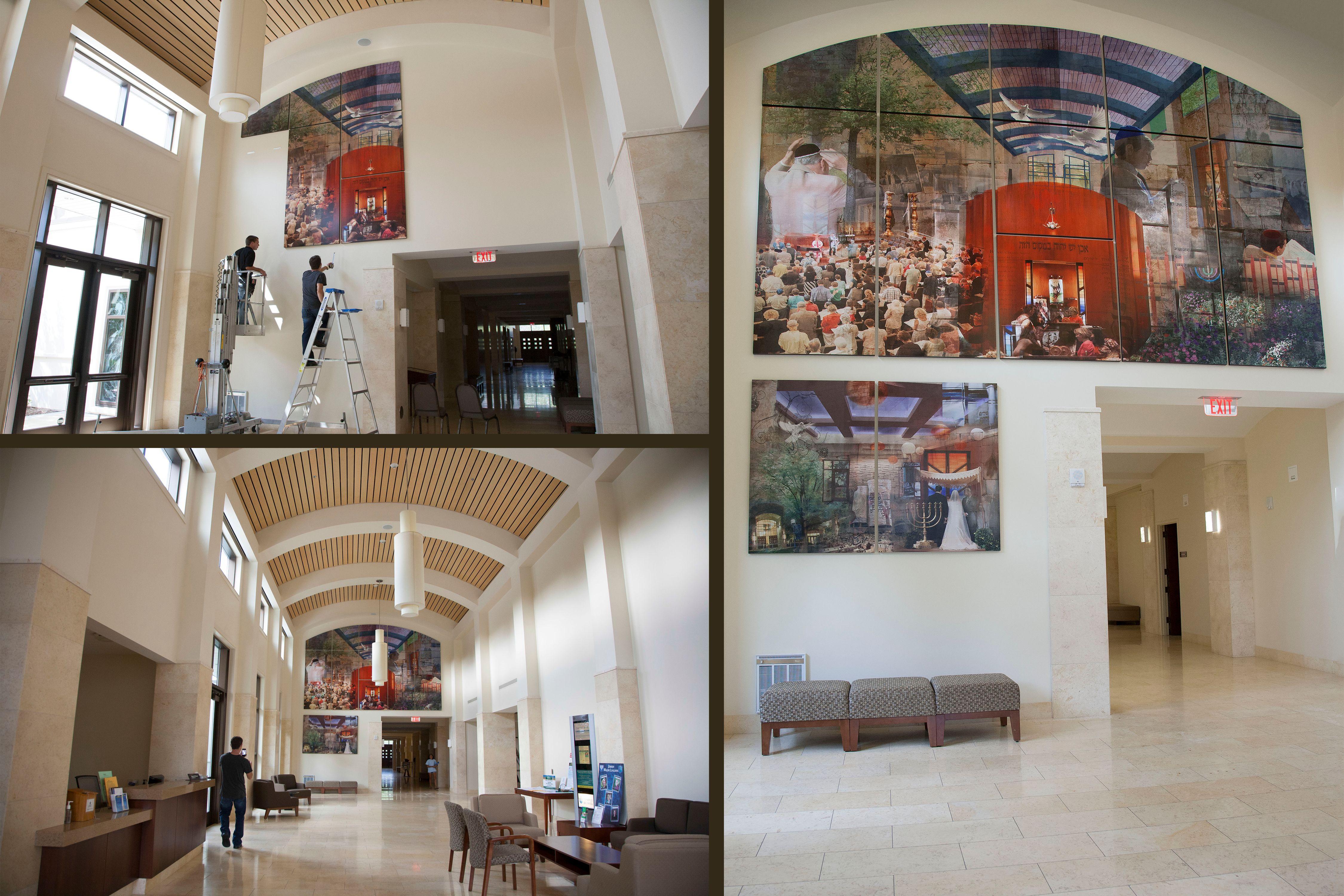 Am Yisrael Chai- Installation view