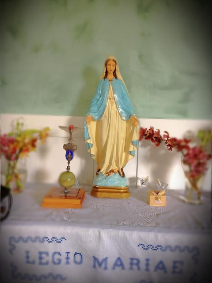 Mary on a Table