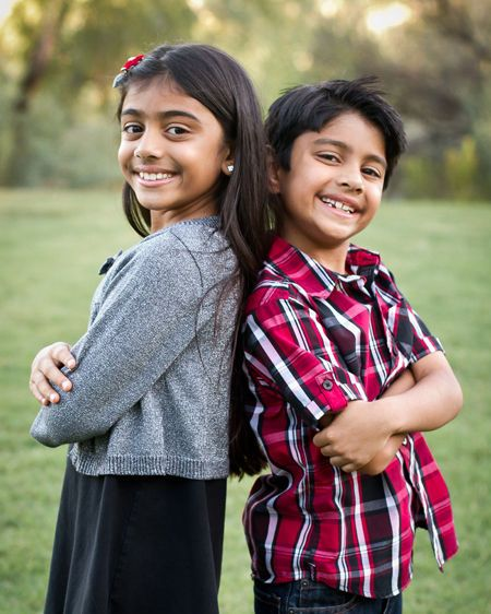 Tucson child sibling portrait photography