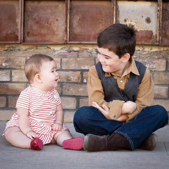 Tucson baby child sibling portrait photography