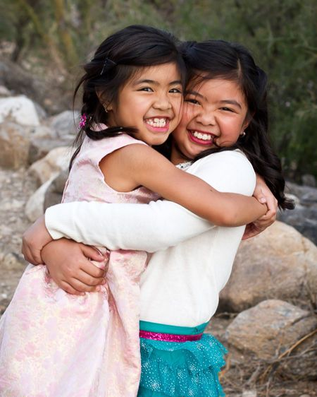 Tucson child sibling sister portrait photography