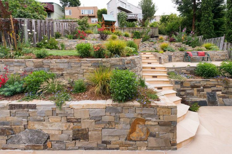 Designed by Barry Sacher with Lazar Landscape Design and Construction