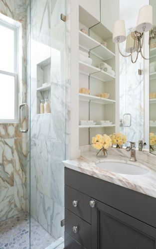 Bathroom RemodelClients: Nystrom Design, Priti Tripathi Architects & KG Bell Construction