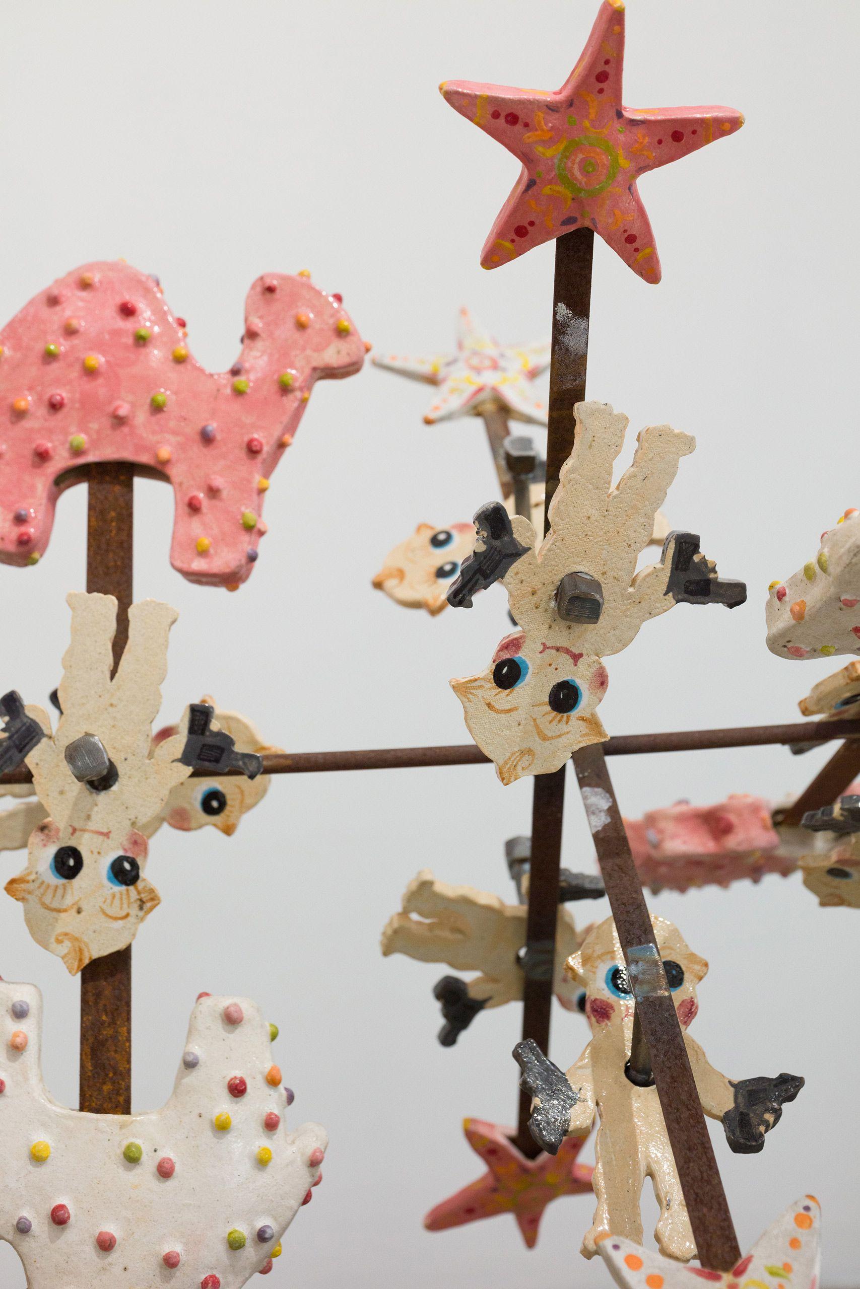 American Game,  moving sculpture cookie reel