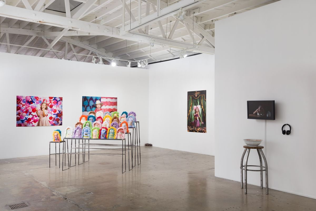 America, Feast or Folly - installation view