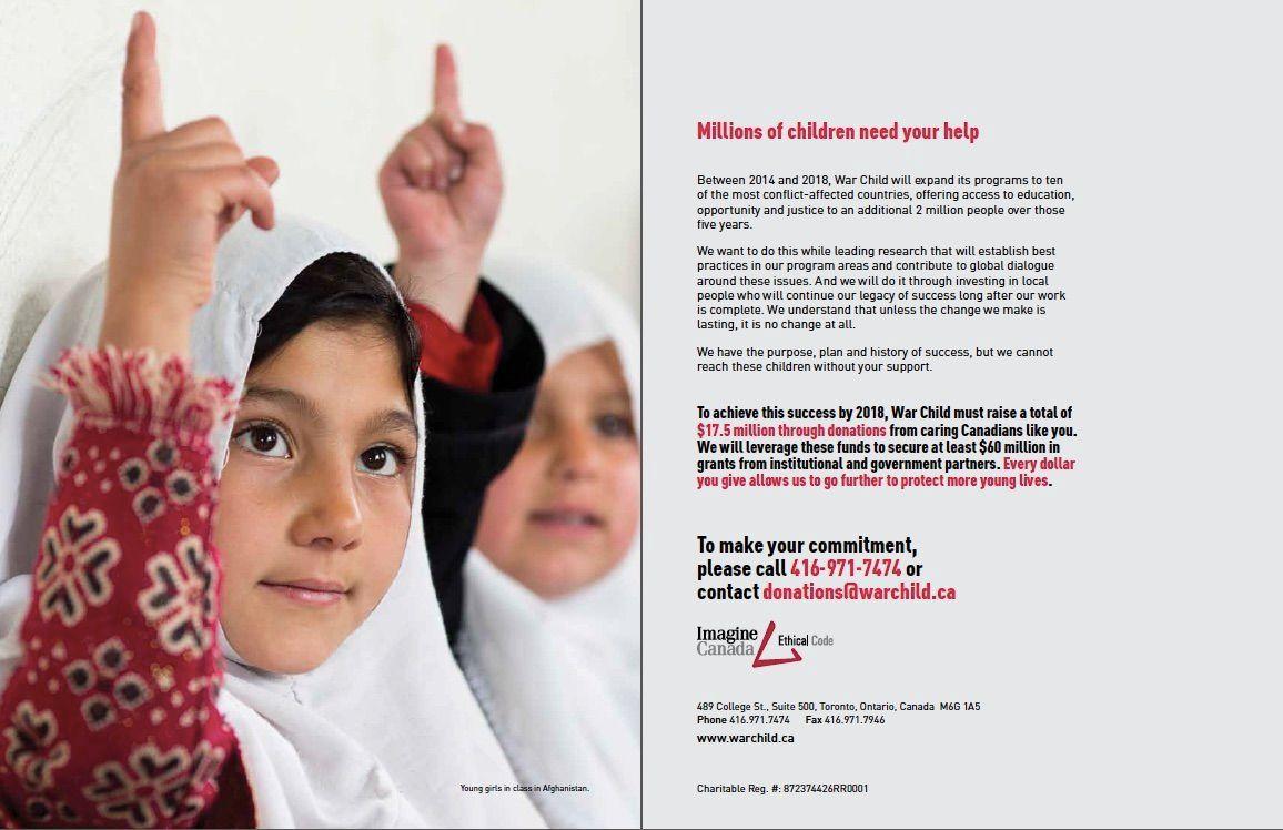 War Child Canada Campaign