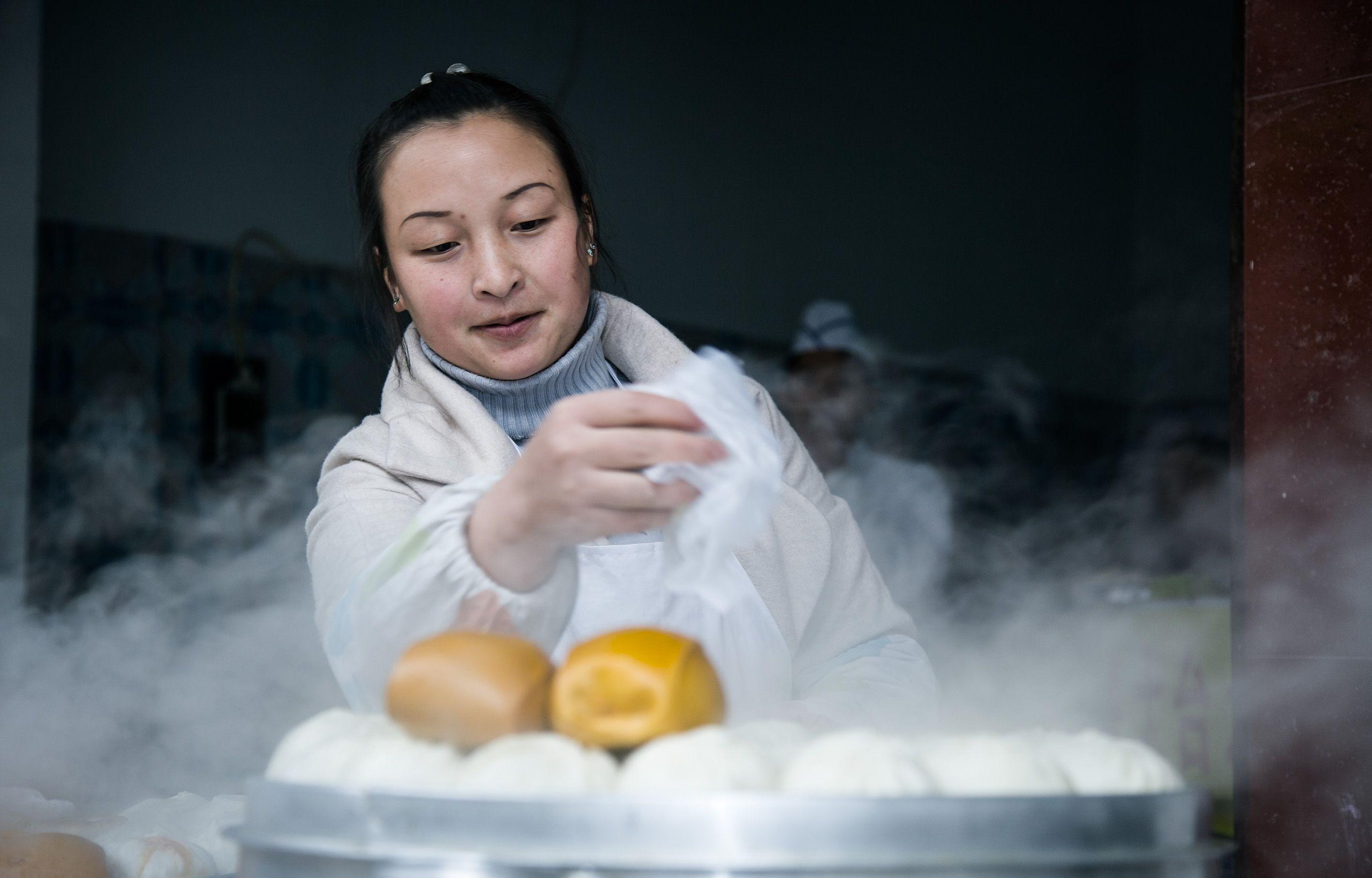 Dumplings Stall