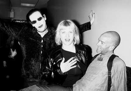 Marilyn MasonCourtney Love andMichael Stipe June 9 ,1997