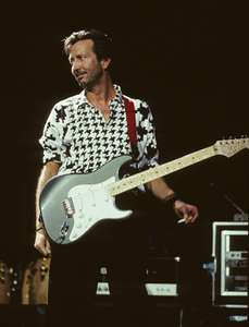Eric Clapton with CigaretteMeadowlandsNew Jersey 1988