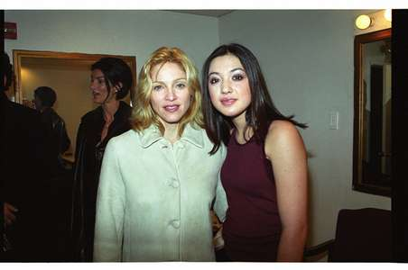 Madonna and Michelle BranchFebruary 2002