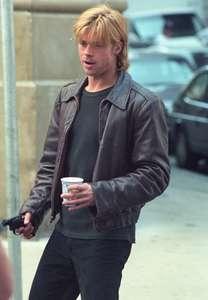 Brad PittDevils OwnCity HallNYC 1997