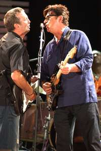 Eric Clapton and Robbie RobertsonCrossroads Concert 2Chicago 2007