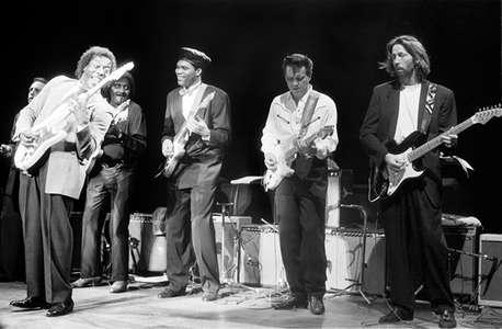 Jerry PortnoyBuddy GuyAlbert CollinsRobert CrayJimmy VaughanEric ClaptonRoyal Albert Hall1991