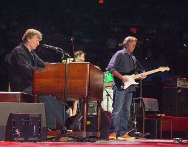 Steve Winwood and Eric ClaptonMadison Square GardenNYC 2008