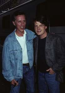 James Woods and Michael J. FoxThe Hard WayUpper West SideNYC 1990