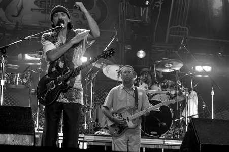 Santana and Eric ClaptonCrossroads Concert 1Dallas, Texas 2004